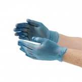 Vogue Powder Free Vinyl Gloves S (Pack of 100)