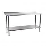Holmes Self Assembly Stainless Steel Wall Table 2100mm