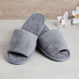 Comfort Vienna Open Toe Slippers Grey (100 Pairs)