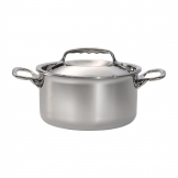 DeBuyer Affinity Stainless Steel Stew Pan With Lid 24 cm
