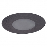 Revol Arborescence Round Plate Liquorice Black 310mm (Pack of 2)