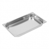 Vogue Heavy Duty Stainless Steel 1/1 Gastronorm Pan 65mm