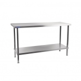 Holmes Self Assembly Stainless Steel Centre Table 1200mm