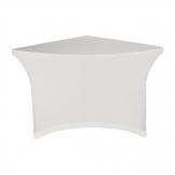 ZOWN XLCorner Table Stretch Cover White