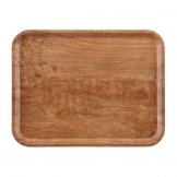 Cambro Madeira Laminate Canteen Tray Brown Olive 460mm