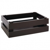 APS Superbox Buffet Crate Black GN1/4