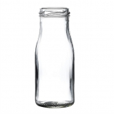 Mini Milk Bottle 155ml (Pack of 18)