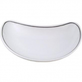 Churchill Black Line Crescent Salad Plates 202mm (Pack of 12)