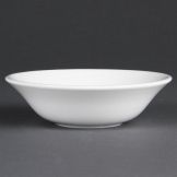 Olympia Whiteware Oatmeal Bowls 150mm 300ml (Pack of 12)
