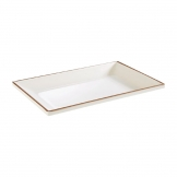 APS Lagoon Rectangular Plate 245mm