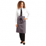Whites Regular Bistro Apron Charcoal
