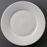 Athena Hotelware Wide Rimmed Plates 254mm