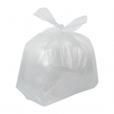 Jantex Large Light Duty Clear Bin Bags 90Ltr (Pack of 200)
