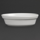 Olympia Whiteware Oval Pie Bowls 145mm (Pack of 6)