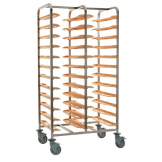Bourgeat Self Clearing Trolley Double