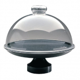 Dalebrook Black Frosted Pedestal