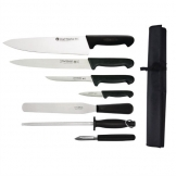 Chef Works 7 Piece Knife Set and Wallet