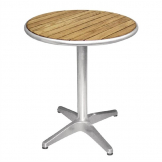 Bolero Ash Top Table Round 600mm