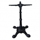 Bolero Cast Iron Ornate Table Leg Base