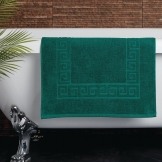 Essentials Nova Bath Mat Dark Green