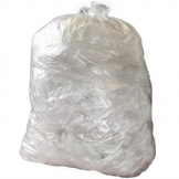 Jantex Large Heavy Duty Clear Bin Bags 120Ltr (Pack of 200)