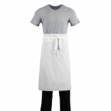 Whites Regular Waist Apron White