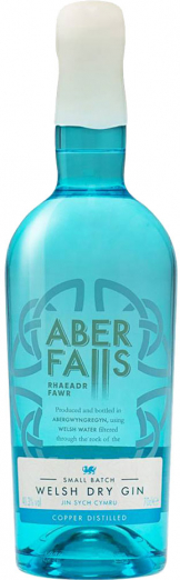 Aber Falls - Welsh Dry Gin (70cl Bottle)