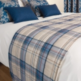 Luxury Chatsworth Bed Runner Petrol King Size