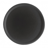 Cambro Camtread Fibreglass Round Non-Slip Tray Black 280mm