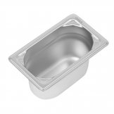 Vogue Heavy Duty Stainless Steel 1/9 Gastronorm Pan 100mm