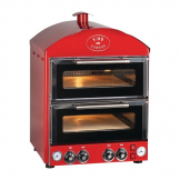 King Edward Pizza King Oven PK2 Red