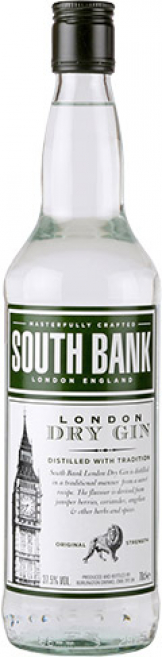 South Bank Gin (70cl Bottle)