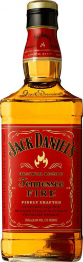 Jack Daniels - Tennessee Fire (70cl Bottle)