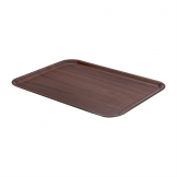 Cambro Mykonos Laminate Canteen Tray Walnut 430mm
