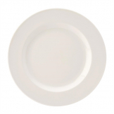 Utopia Pure White Wide Rim Plates 250mm (Pack of 24)