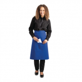 Whites Regular Bistro Apron Blue
