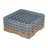 Cambro Camrack Beige 49 Compartments Max Glass Height 174mm