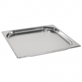 Vogue Stainless Steel Gastronorm 2/3 Pan 20mm