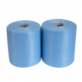 EcoTech Envirolite Super Antibacterial Cleaning Cloths Blue (Roll of 2 x 500)