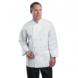 Chef Works Unisex Le Mans Chefs Jacket White M