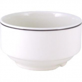 Churchill Classic Black Line Soup Bowls 398ml (Pack of 24)