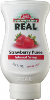 Image of Real - Strawberry Puree Infused Syrup