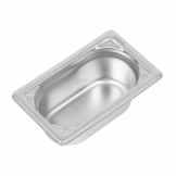 Vogue Heavy Duty Stainless Steel 1/9 Gastronorm Pan 65mm