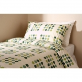 Essentials Memphis Housewife Pillowcase Green (144 TC, 50/50 Polycotton)