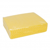 All-Purpose Non-Woven Cleaning Cloths Yellow (Pack of 500)