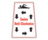 Swim Anti-Clockwise Portable Floor Stand - FL060