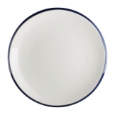 Olympia Brighton Coupe Porcelain Plate 230mm (Pack of 6)