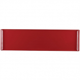 Alchemy Buffet Red Melamine Rectangular Trays 560x 153mm (Pack of 4)