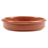 ABS Pottery Terracotta Tapas Dish 128mm (Pack of 24)