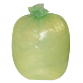 Jantex Large Medium Duty Green Bin Bags 90Ltr (Pack of 200)